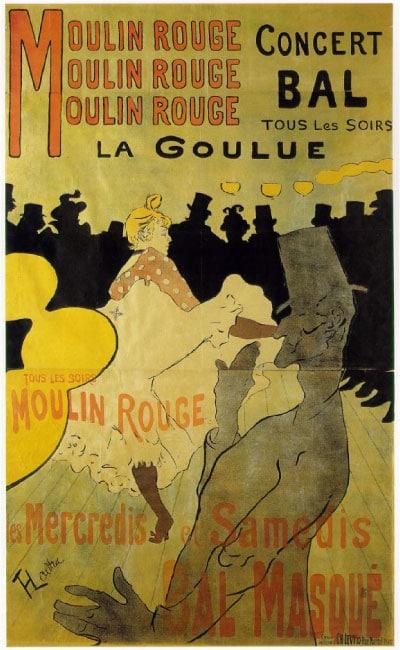 Poster Vintage Moulin Rouge