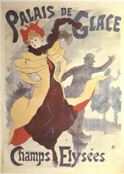 Poster Vintage Palais de Glace