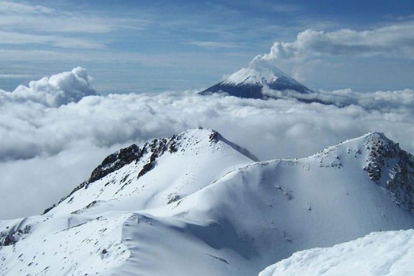 Esquiar en México Iztaccihuatl