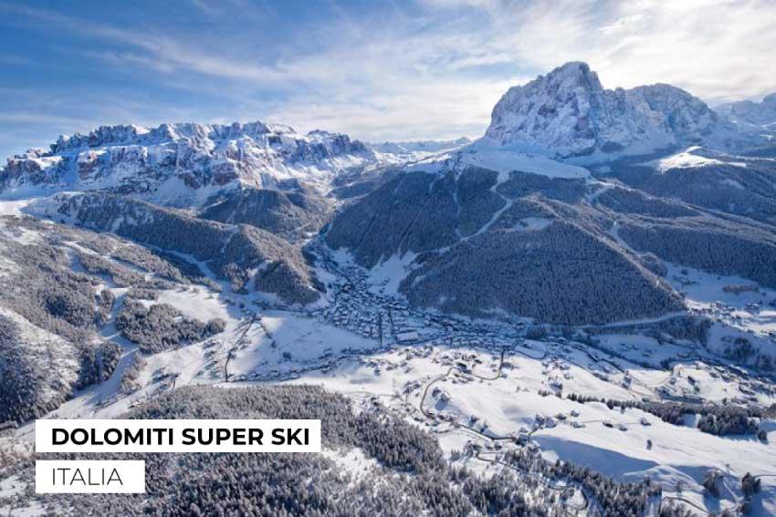 Los Alpes Dolomitisuperski