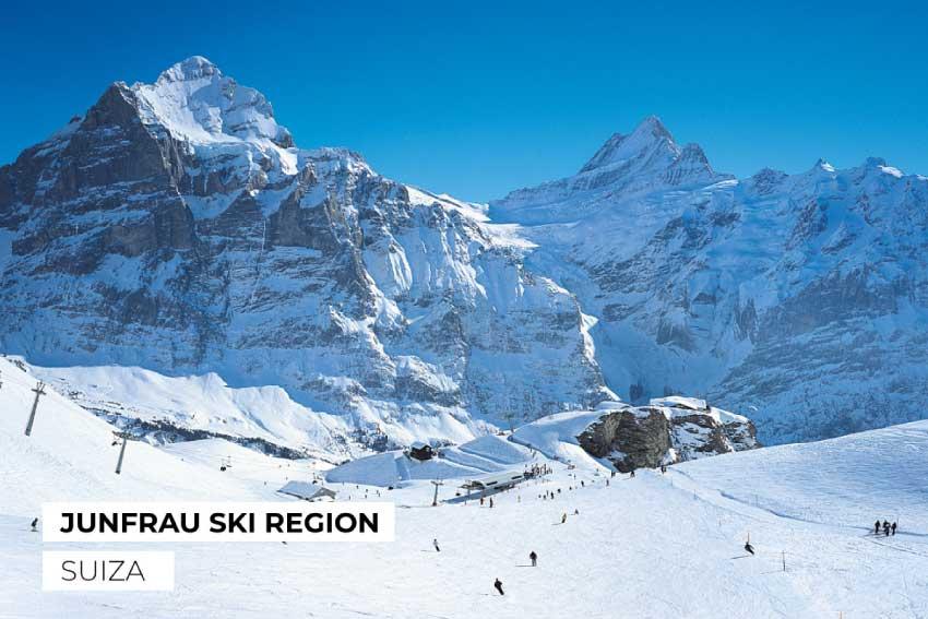 Los Alpes Jungfrau