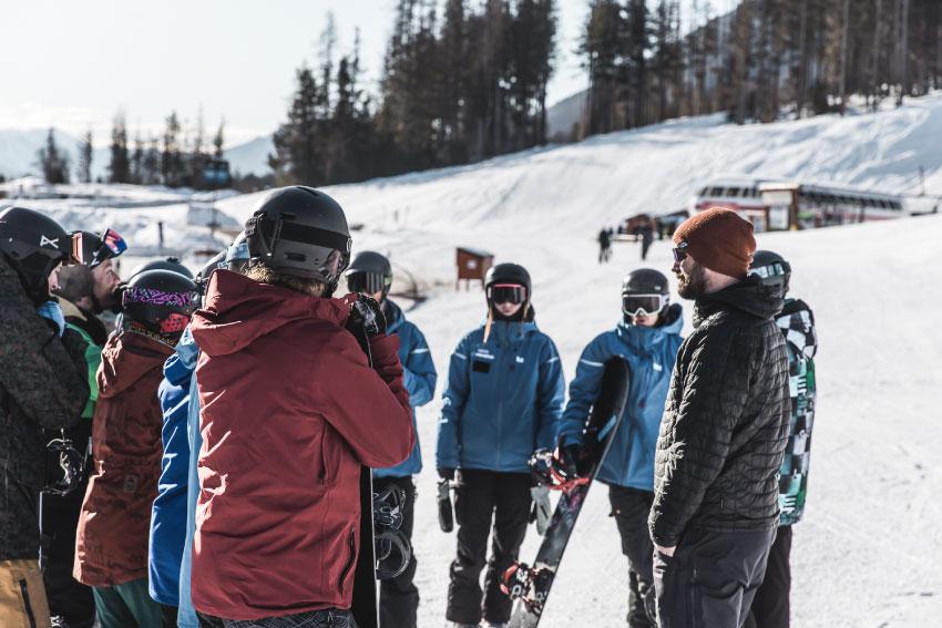 Grupos esqui Fernie