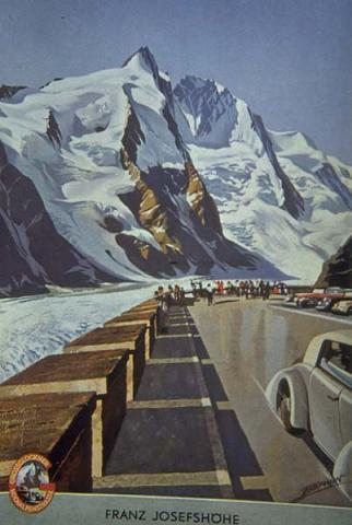 Poster Vintage Franz Josefshohe