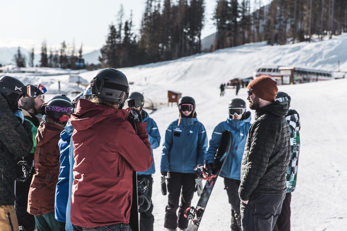 Winter Camp organizado por Nonstop Snow