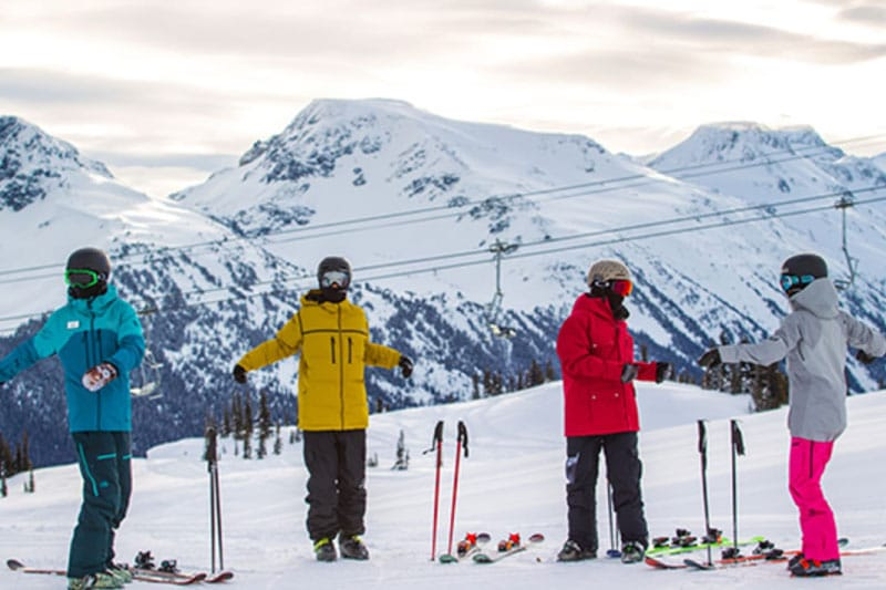 Clases de Esqui Grupos